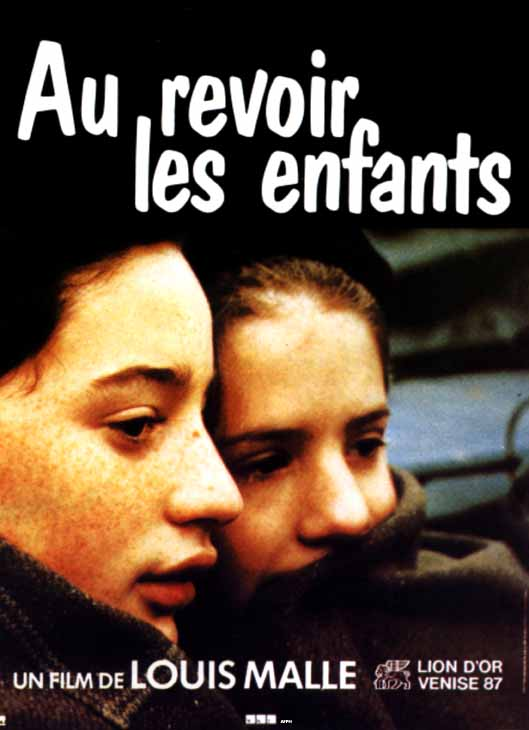 "poster for ""Au Revoir Les Enfants"" by Louis Malle(1987)"