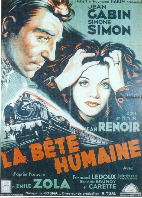 "poster for ""B�te humaine, La&quot"