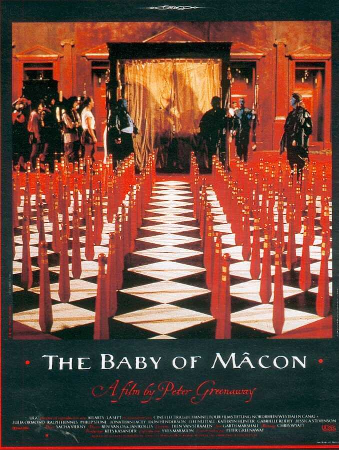 "poster for ""Baby of M�con, The"" by Peter Greenaway(1993)"