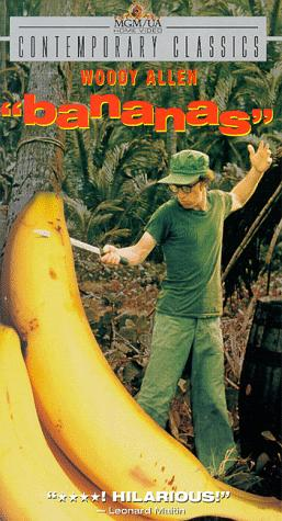 "poster for ""Bananas"""