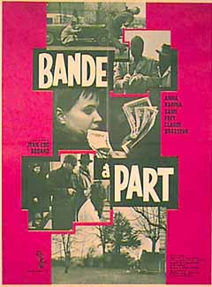 "poster for ""Bande � part&quot"