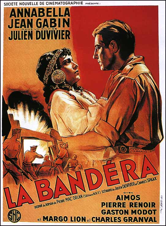 "poster for ""Bandera, La"" by Julien Duvivier(1935)"
