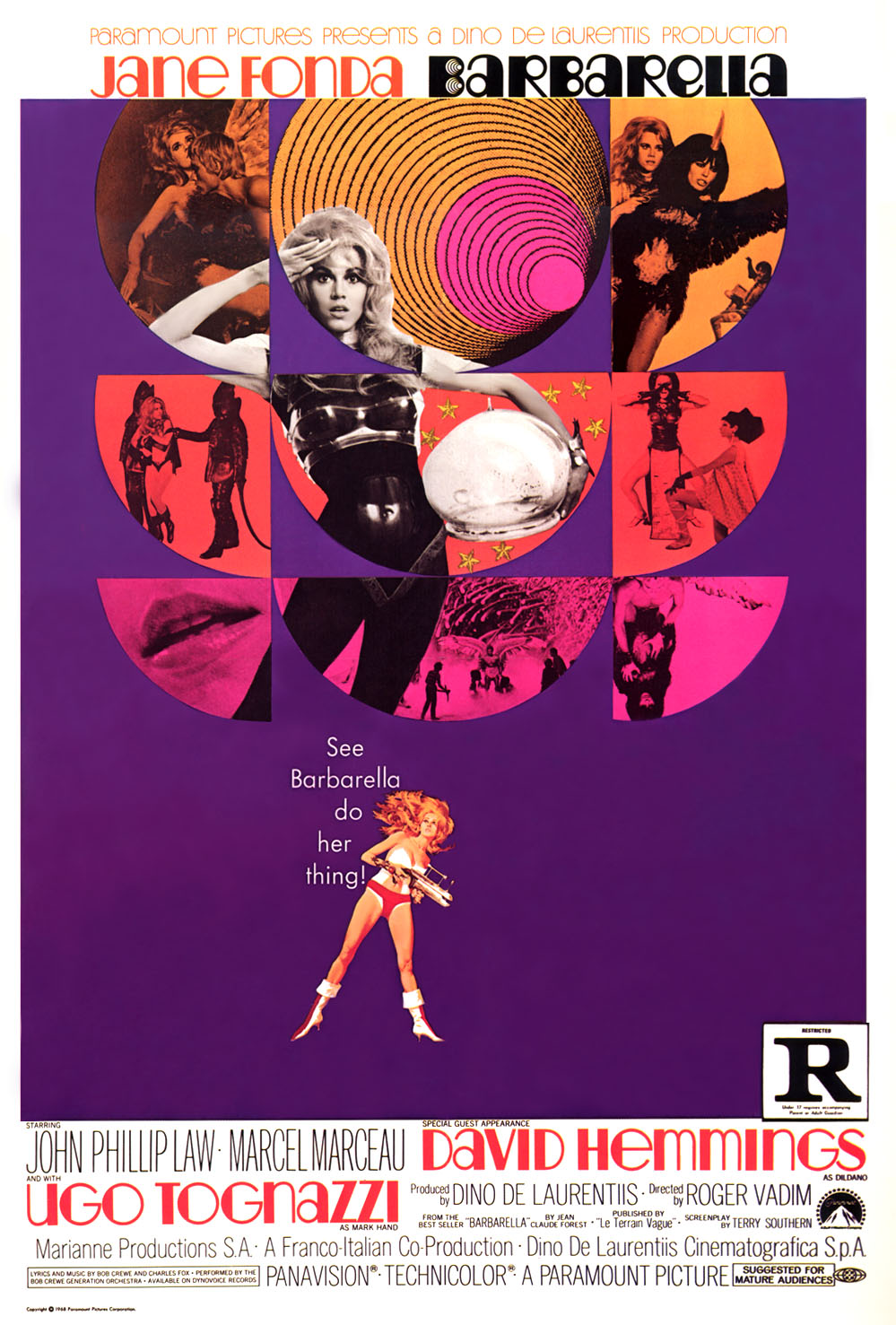 barbarella movie poster - photo #10