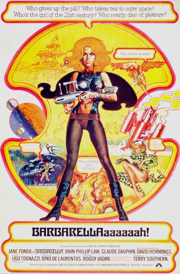 "poster for ""Barbarella&quot"