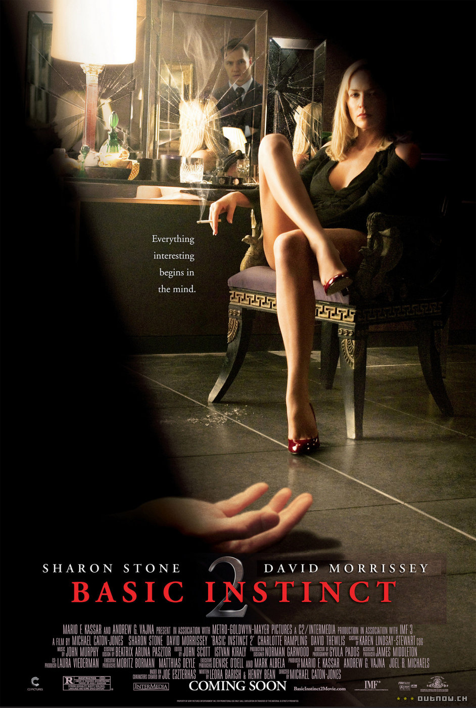 "poster for ""Basic Instinct 2"" by Michael Caton-Jones (2006)"