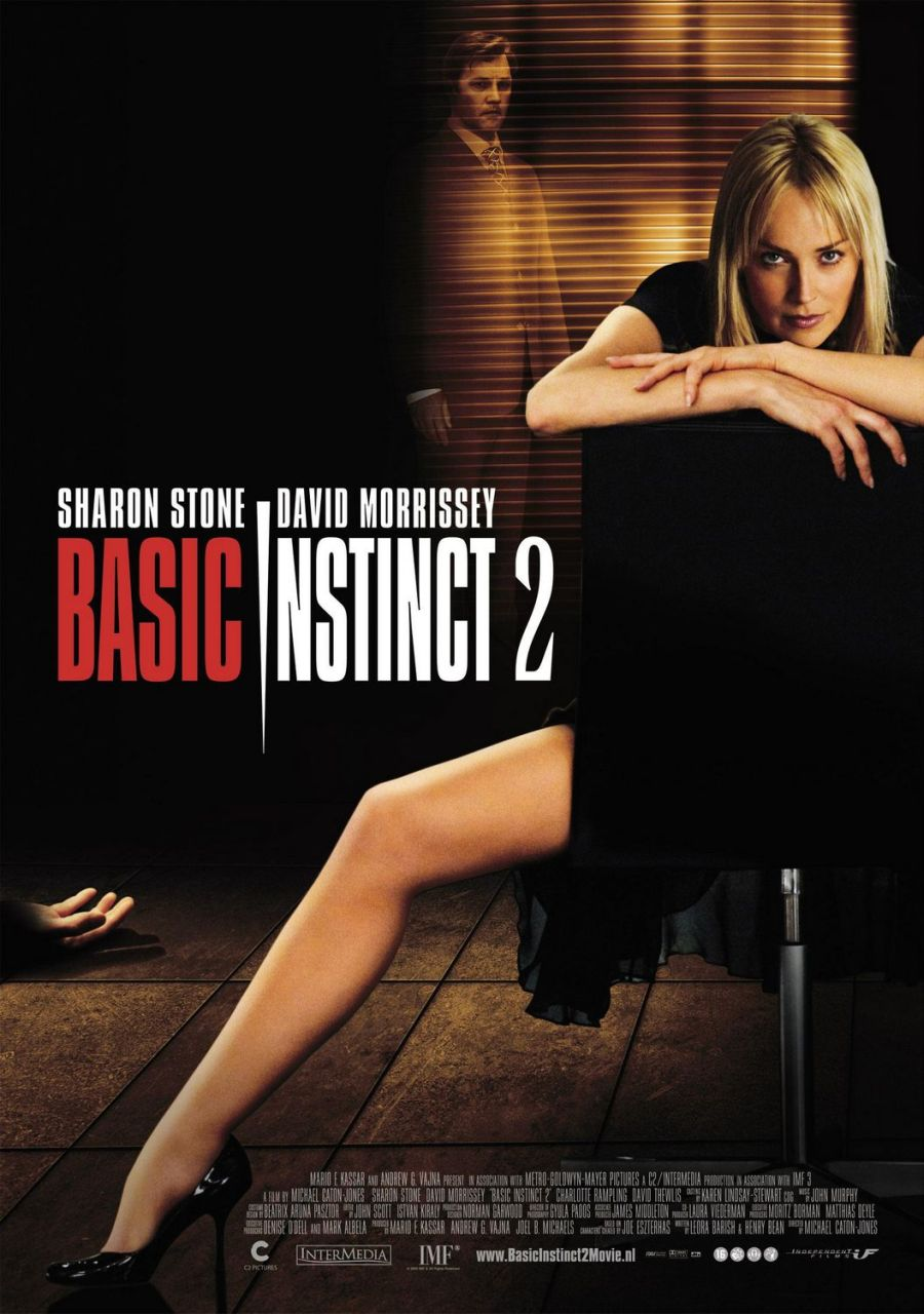 "poster for ""Basic Instinct 2"""