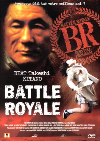 "poster for ""Battle Royale&quot"