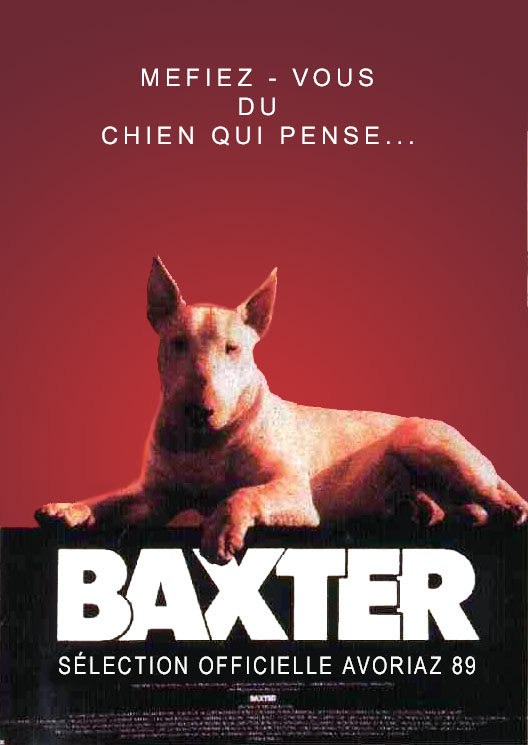"poster for ""Baxter"" by J�r�me Boivin(1989)"