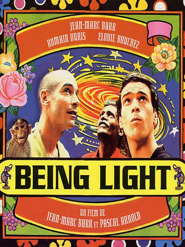 "poster for ""Being Light"" by Jean-Marc Barr 