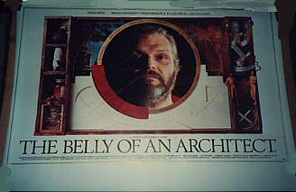 "poster for ""Belly of an Architect, The&quot"