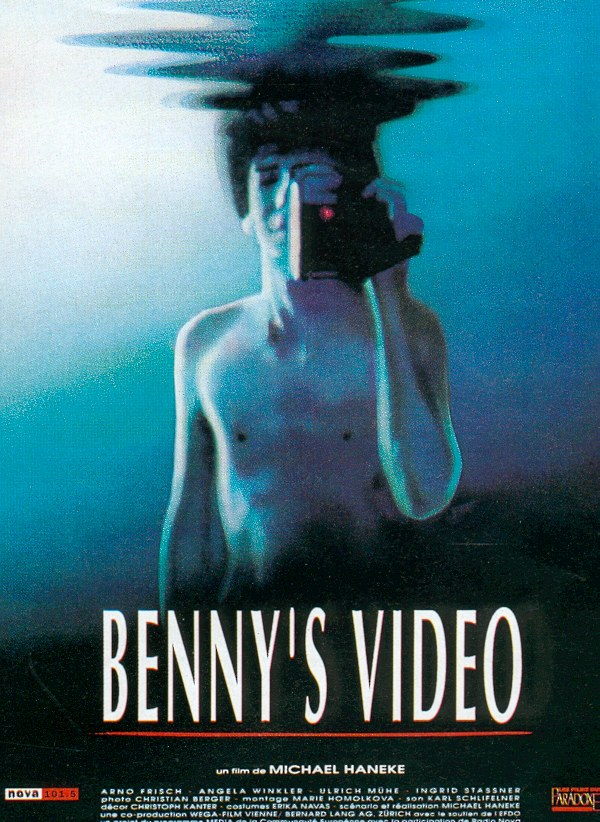 "poster for ""Benny's Video"" by Michael Haneke(1992)"