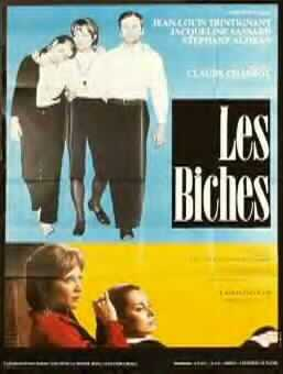 "poster for ""Biches, Les"" by Claude Chabrol(1968)"