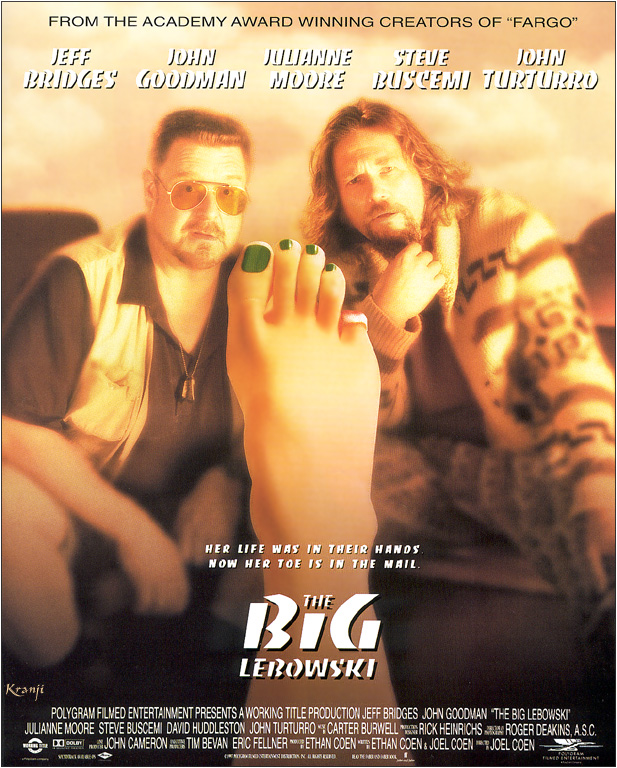 "poster for ""Big Lebowski, The&quot"