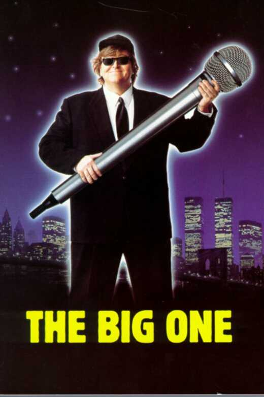 "poster for ""Big One, The"" by Michael Moore (II)(1997)"