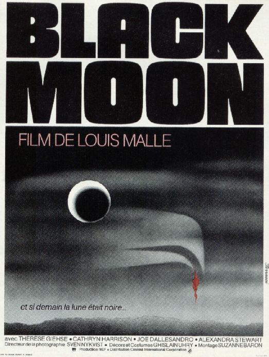 "poster for ""Black Moon"" by Louis Malle(1975)"