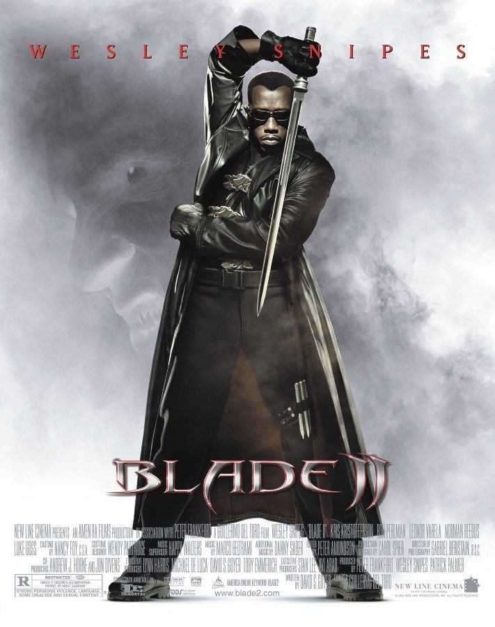 "poster for ""Blade 2&quot"