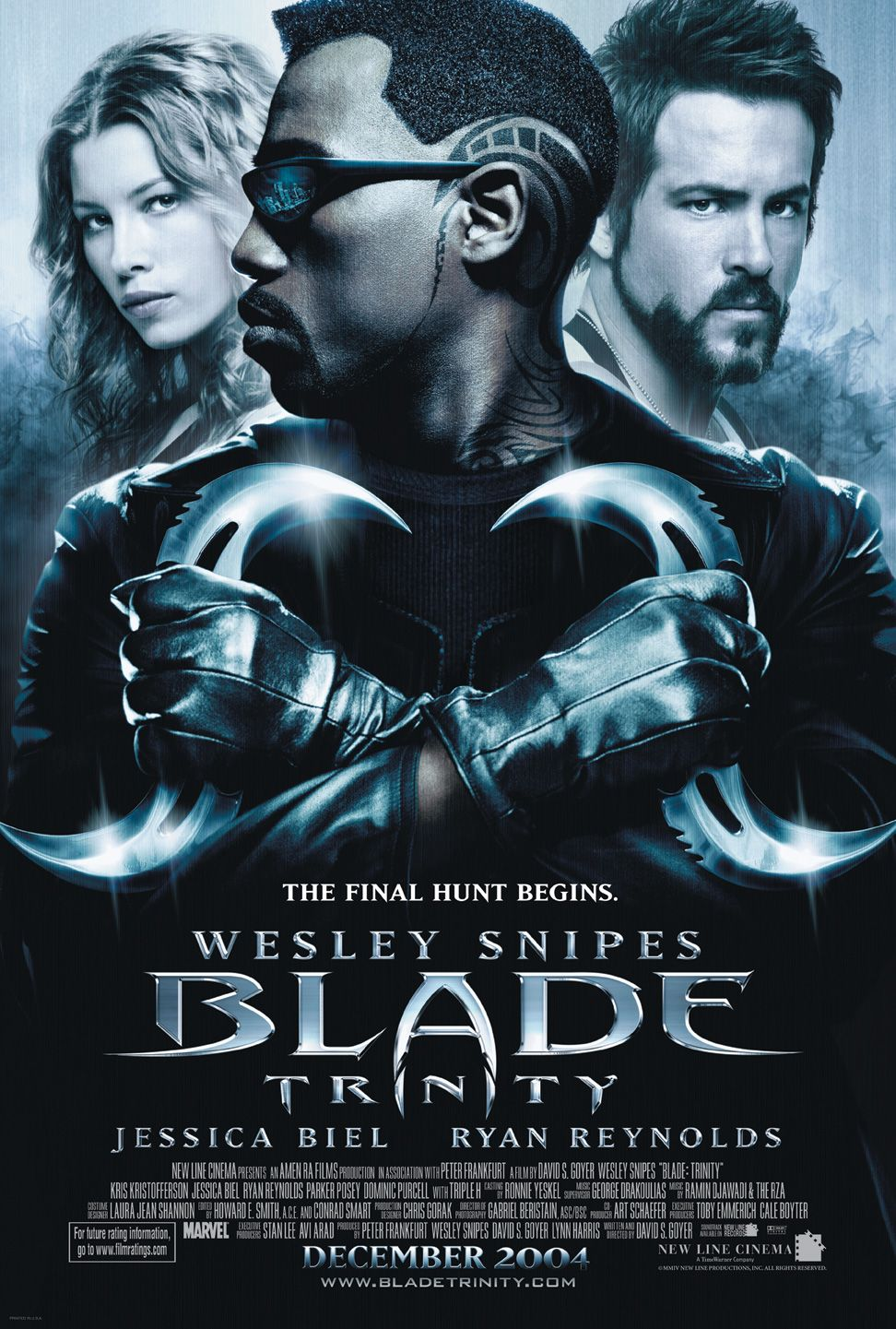 "poster for ""Blade Trinity"" by David S. Goyer(2004)"