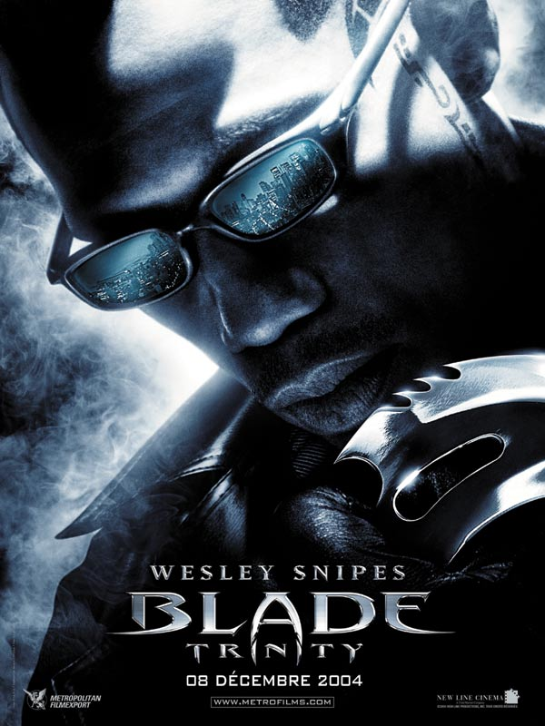 "poster for ""Blade Trinity&quot"