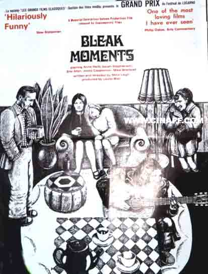 "poster for ""Bleak Moments"" by Mike Leigh(1971)"