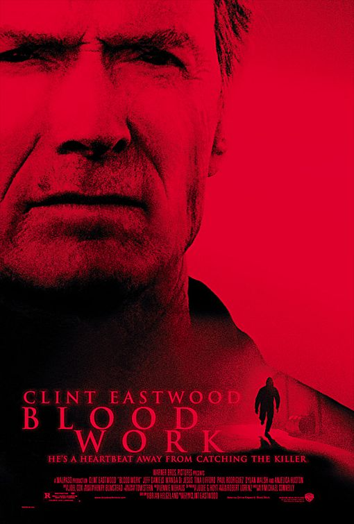 "poster for ""Blood Work"" by Clint Eastwood(2002)"