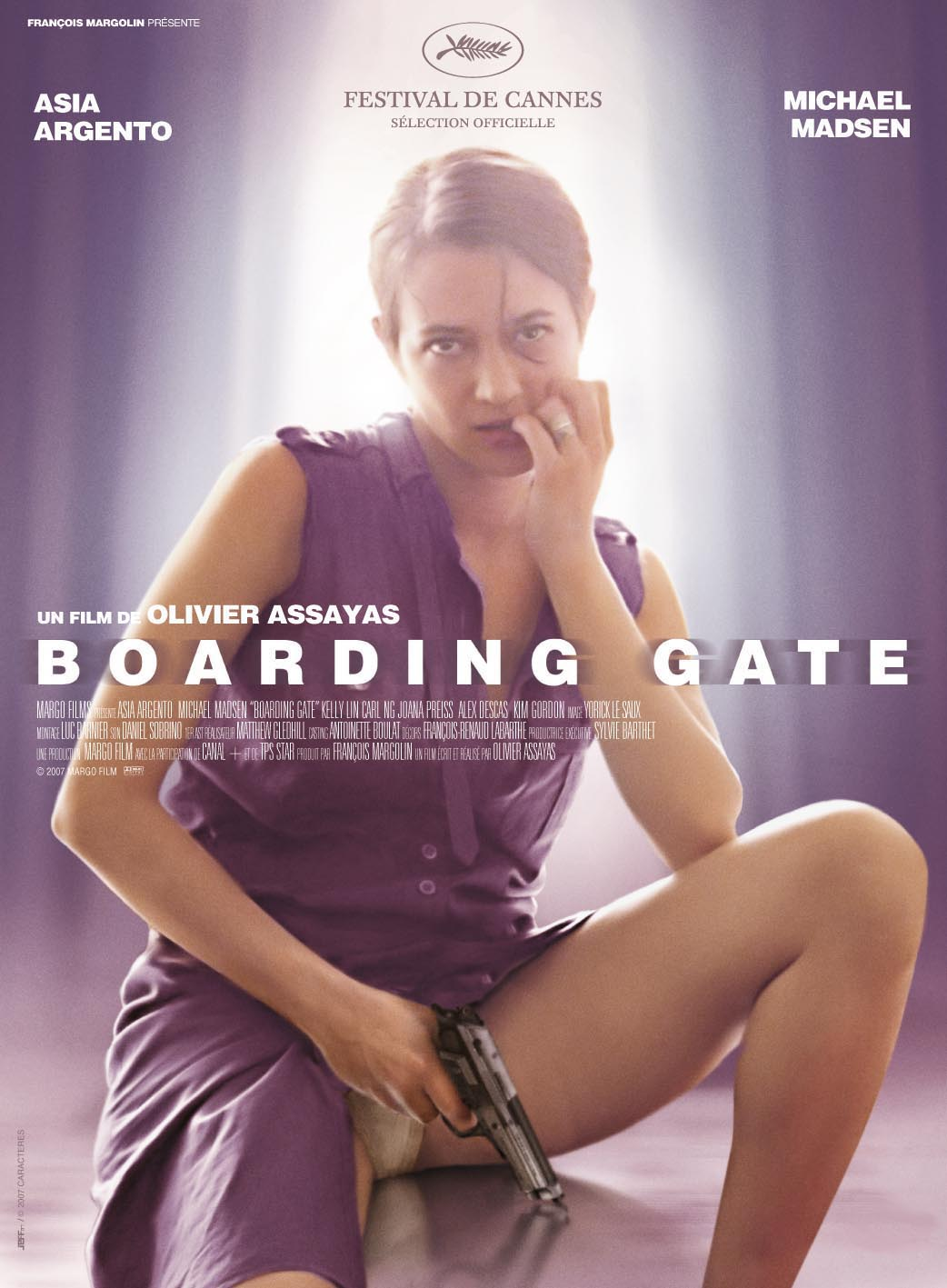 "poster for ""Boarding Gate"" by Olivier Assayas (2007)"