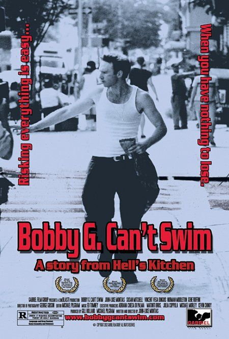 "poster for ""Bobby G. Can't Swim"" by John-Luke Montias (1999)"