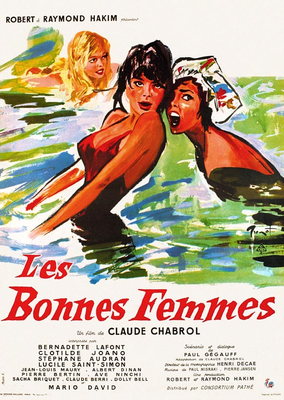 "poster for ""Bonnes Femmes, Les"" by Claude Chabrol(1960)"