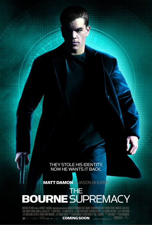 "poster for ""Bourne Supremacy, The"""