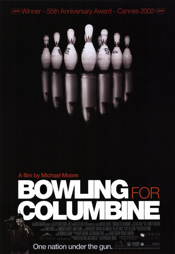 "poster for ""Bowling For Columbine"" by Michael Moore (II)(2002)"