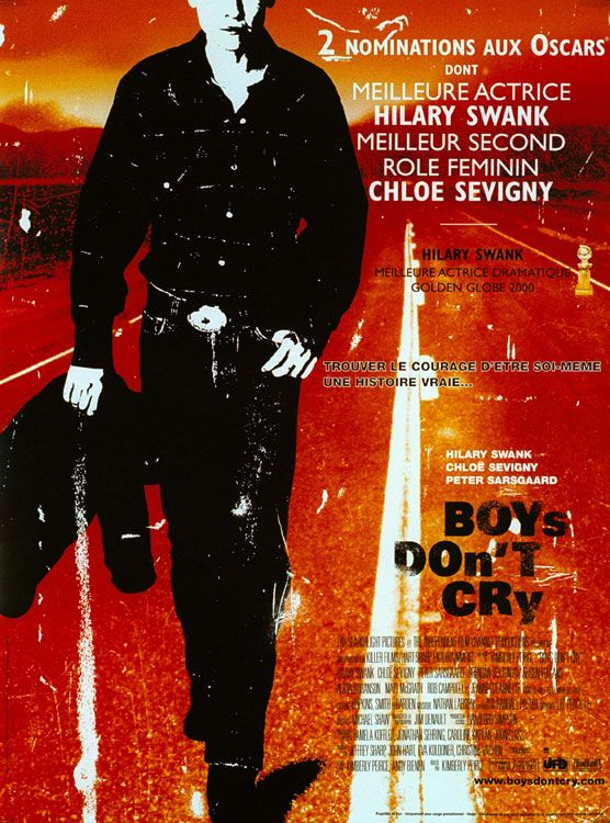 "poster for ""Boys Don't Cry"" by Kimberly Peirce (1999)"
