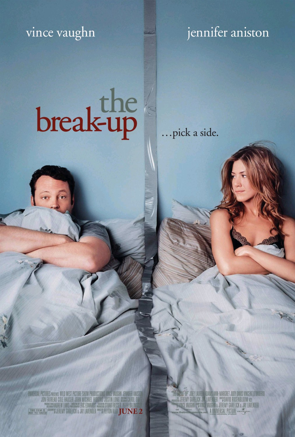"poster for ""Break-Up, The"" by Peyton Reed (2006)"