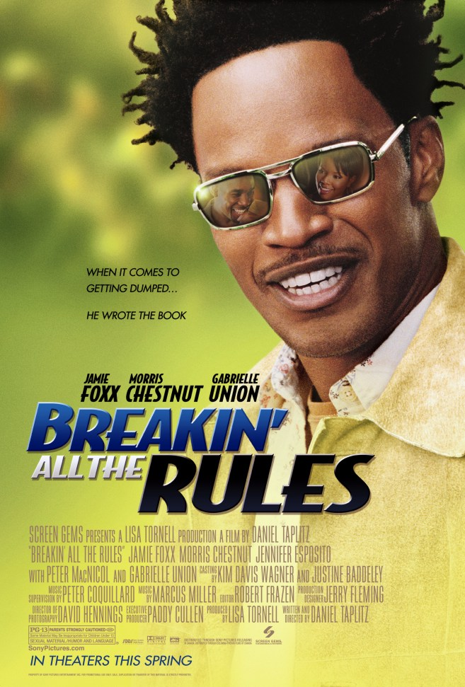 "poster for ""Breakin All the Rules"" by Daniel Taplitz(2004)"