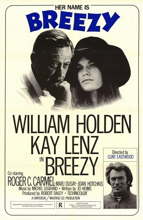 "poster for ""Breezy"" by Clint Eastwood(1973)"