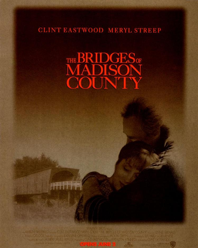 "poster for ""Bridges Of Madison County&quot"