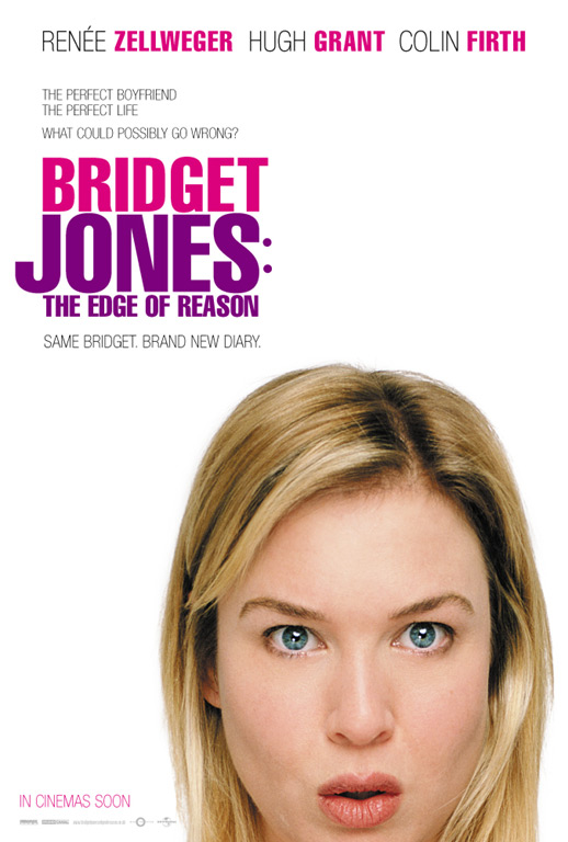 "poster for ""Bridget Jones 2: The Edge Of Reason&quot"