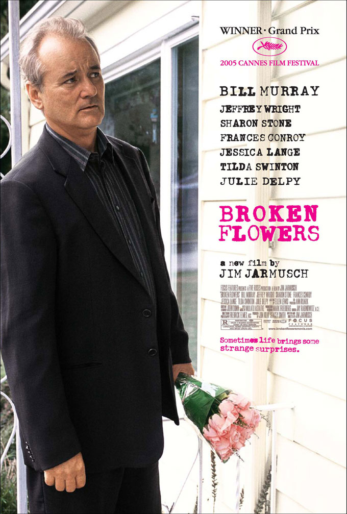 "poster for ""Broken Flowers&quot"