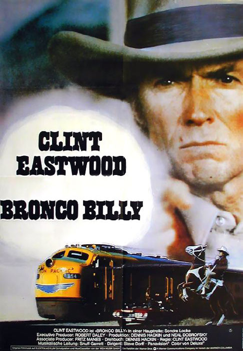"poster for ""Bronco Billy&quot"