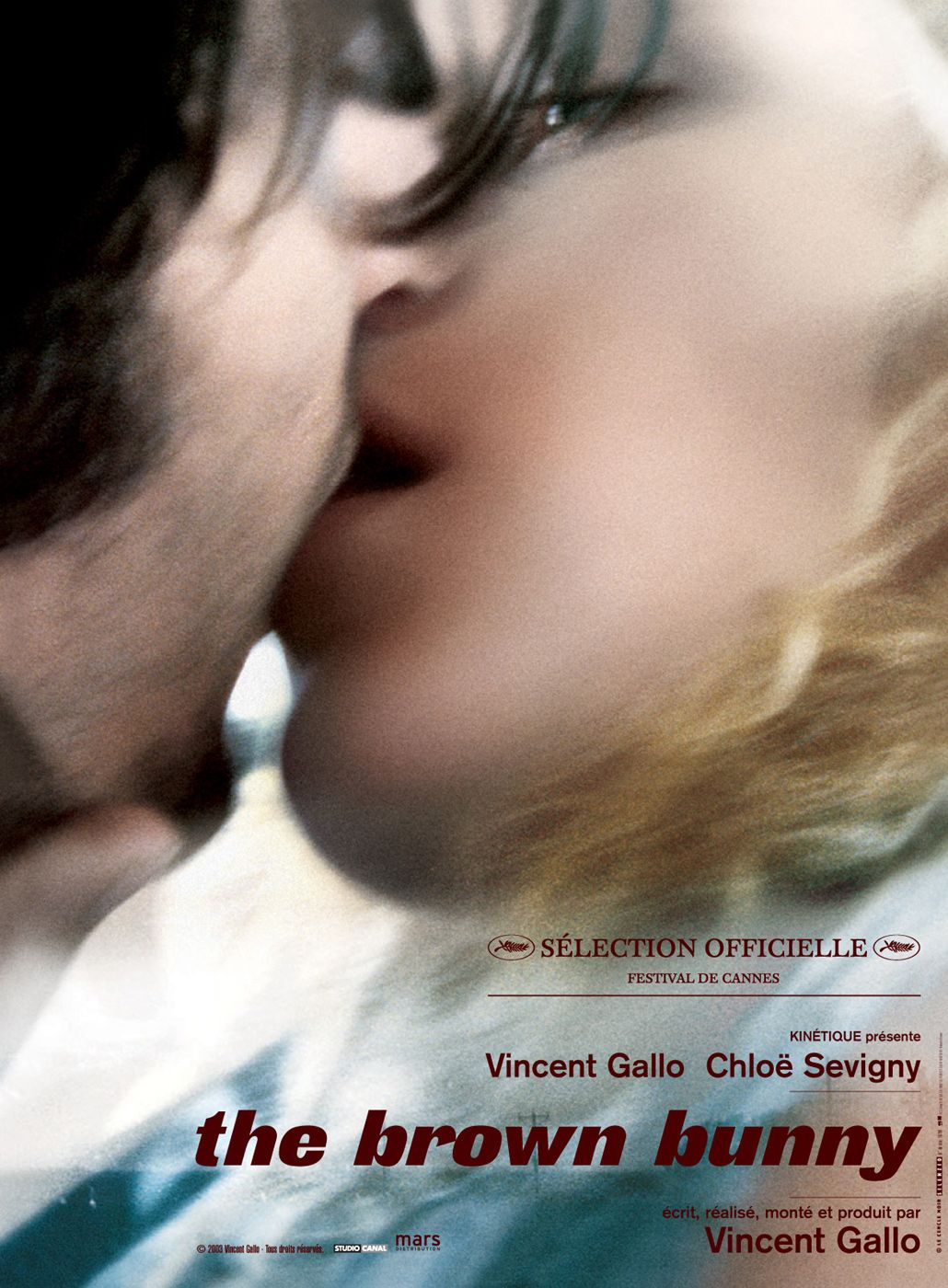 "poster for ""Brown Bunny, The"" by Vincent Gallo(2003)"