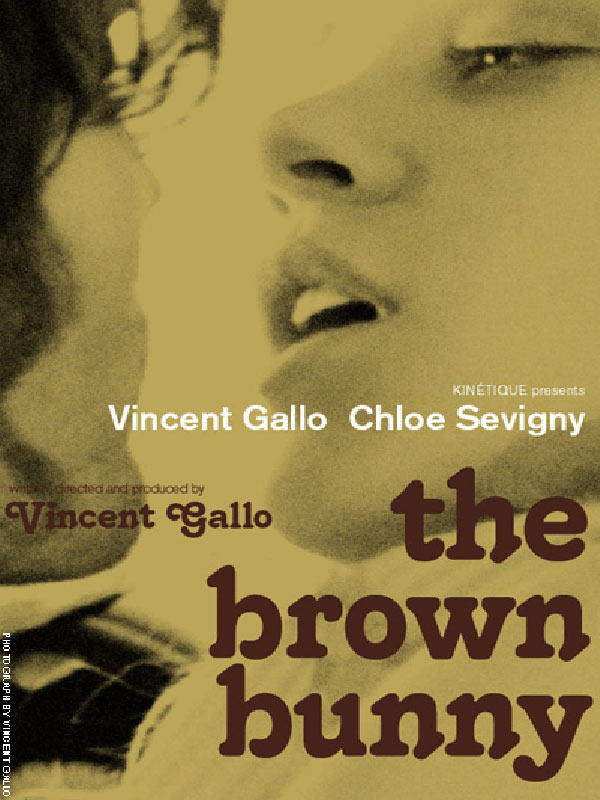"poster for ""Brown Bunny, The&quot"