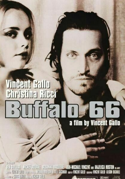 "poster for ""Buffalo '66"" by Vincent Gallo(1998)"