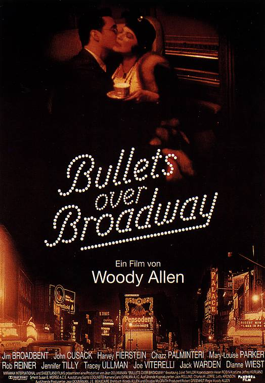 "poster for ""Bullets Over Broadway&quot"