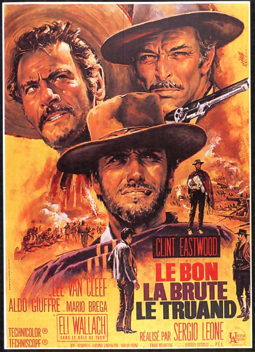 "poster for ""Buono, il brutto, il cattivo, il (The Good, the Bad and The Ugly)&quot"