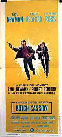 "poster for ""Butch Cassidy and the Sundance Kid&quot"