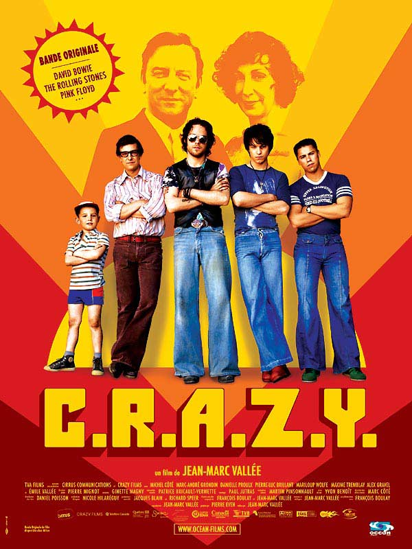 "poster for ""C.R.A.Z.Y."" by Jean-Marc Vall�e(2005)"