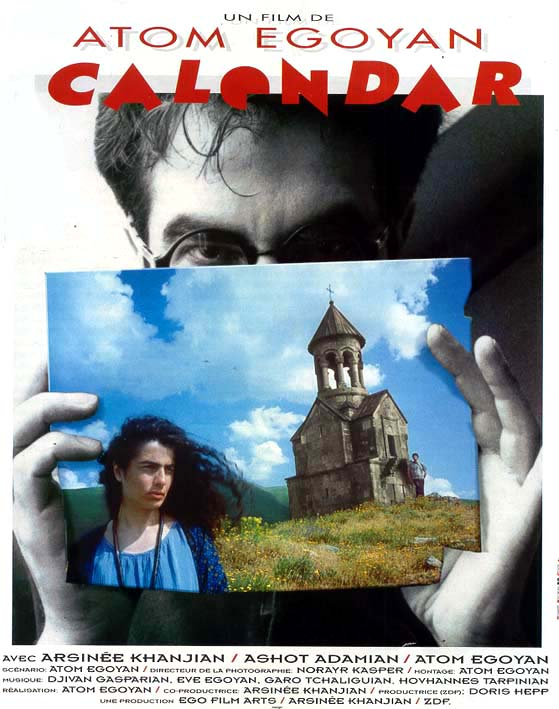 "poster for ""Calendar"" by Atom Egoyan(1993)"