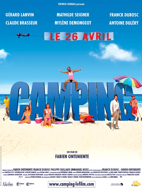 "poster for ""Camping"" by Fabien Onteniente (2006)"