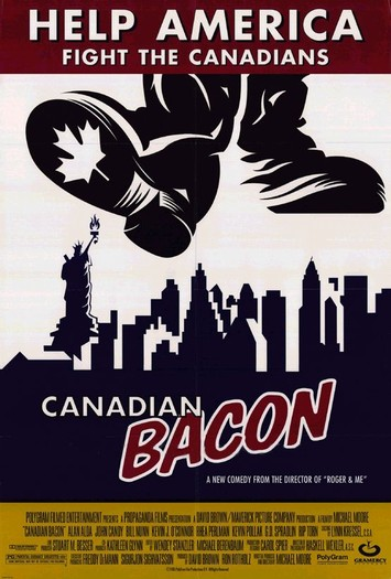 "poster for ""Canadian Bacon"""