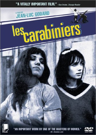 "poster for ""Carabiniers, Les (The Riflemen, The Soldiers (US))"""