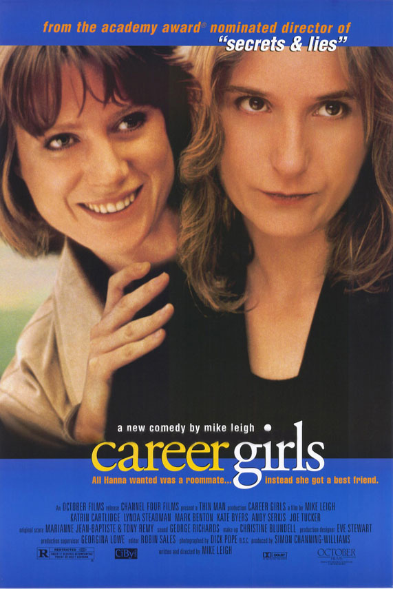 "poster for ""Career Girls"" by Mike Leigh(1997)"