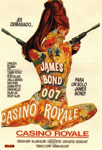 casino royale spoof